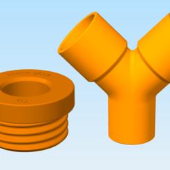 Descargar archivos 3D gratis Adaptador de la máscara (entrada RD40) al filtro DAR, PrzemekStachura