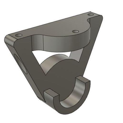 Captura.JPG Download free STL file Spool Holder Mount • 3D printer design, DimensionArg