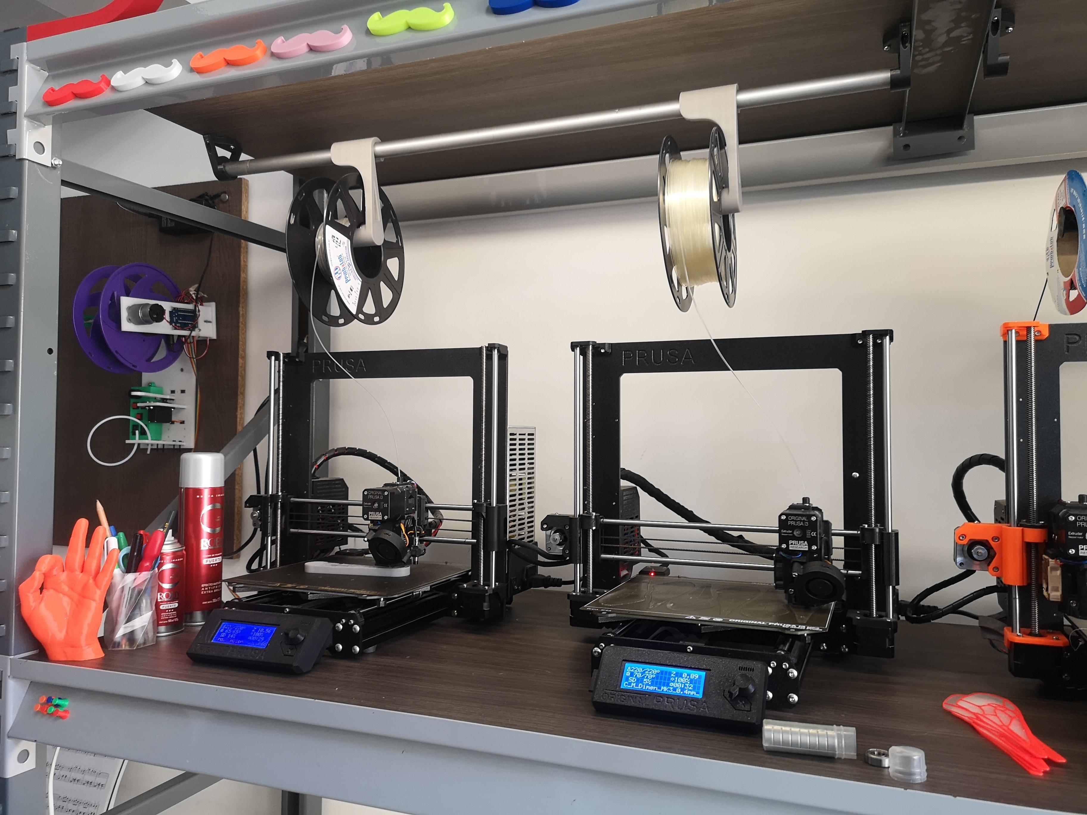 IMG_20200524_124953.jpg Download free STL file Spool Holder Mount • 3D printer design, DimensionArg