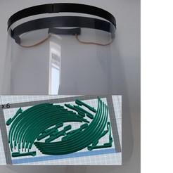 Descargar STL gratis 6 Máscaras de protección de una sola vez (4 horas), corejo