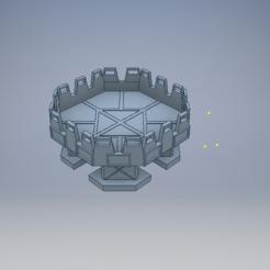 pad snip iso 2.PNG Download STL file Skyshield landing pad • 3D print template, 3dp_terrain