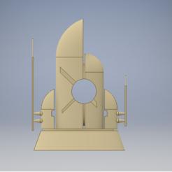 coalition front.PNG Download STL file Tau building terrain (coalition centre) • 3D printable template, 3dp_terrain
