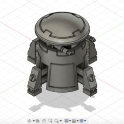 Screenshot 2020-04-21 at 18.10.47.png Télécharger fichier STL Tourelle de sentinelle de l'empire Tau (fusil à plasma) • Design pour imprimante 3D, 3dp_terrain