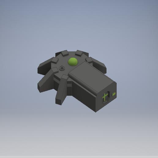 Download free STL file Imperial guard bunker • 3D printer model, 3dp_terrain