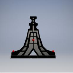 webeay front.PNG Download STL file Eldar webway base • 3D printable object, 3dp_terrain