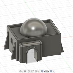 Screenshot 2020-04-20 at 19.40.49.png Télécharger fichier STL Tattooine petit bâtiment • Design pour imprimante 3D, 3dp_terrain