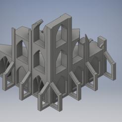 building iso.PNG Download STL file Building ruin terrain • 3D printer model, 3dp_terrain