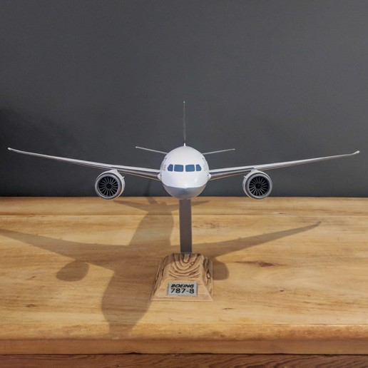 15.jpg Download STL file Boeing 787-8 Dreamliner - 1:144 • 3D printable model, CLERX
