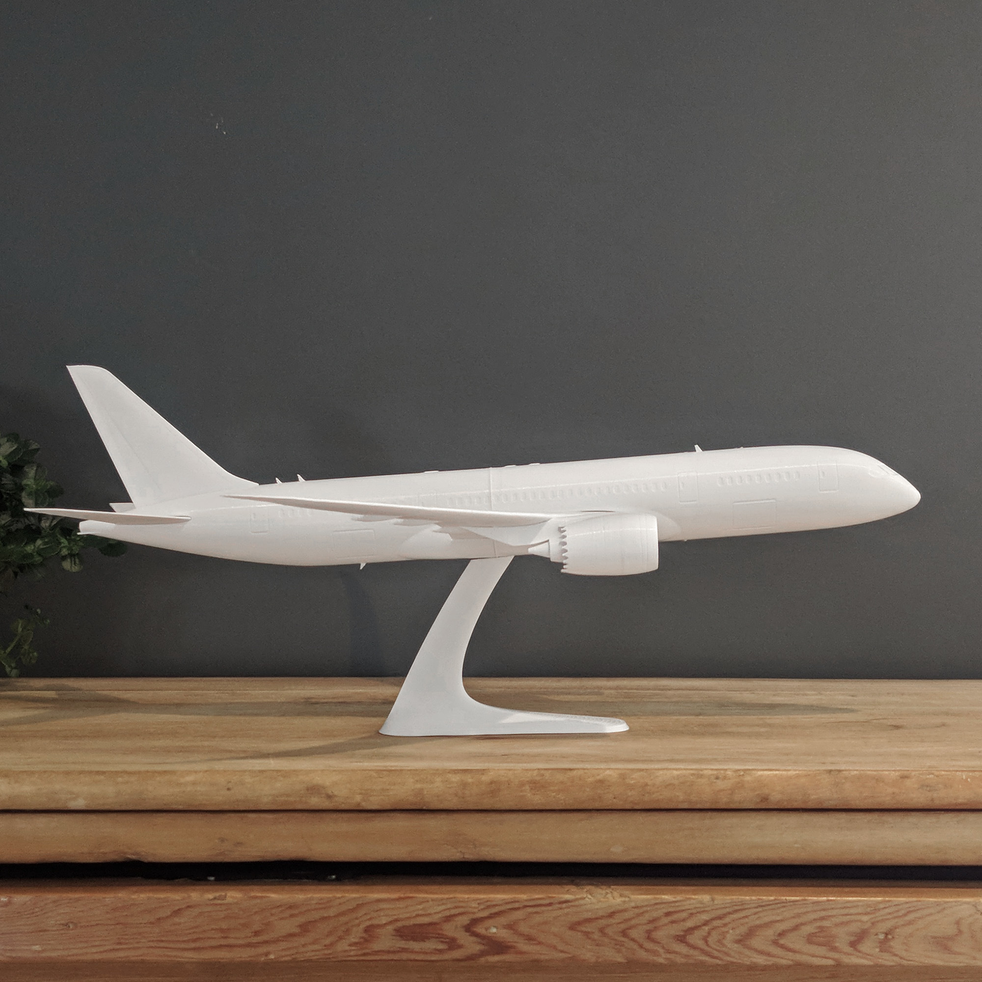 19.jpg Download STL file Boeing 787-8 Dreamliner - 1:144 • 3D printable model, CLERX