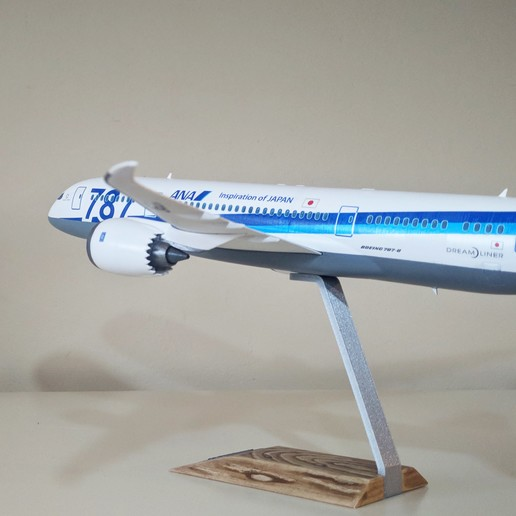 6.jpg Download STL file Boeing 787-8 Dreamliner - 1:144 • 3D printable model, CLERX