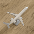 Download 3D printing templates BOMBARDIER CRJ700 - 1:100, Clerix
