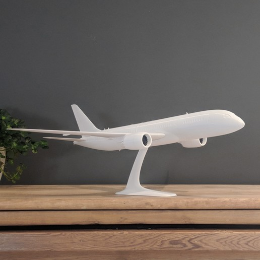 18.jpg Download STL file Boeing 787-8 Dreamliner - 1:144 • 3D printable model, CLERX