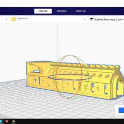 G243.png Download STL file  Zenitco B10U | Guzshop | Alphaking ak gel blaster • Model to 3D print, Guzshop
