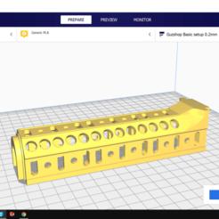 gia re.png Download STL file Zenitco B10L | Ak Alphaking | GelBlaster • 3D printer template, Guzshop