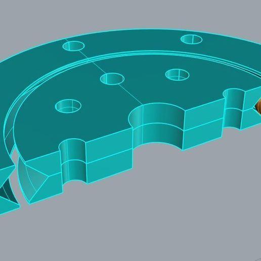 SlewBearing70x8b.JPG Télécharger fichier STL gratuit Roulement à billes de 70 mm • Modèle à imprimer en 3D, ThinkSolutions