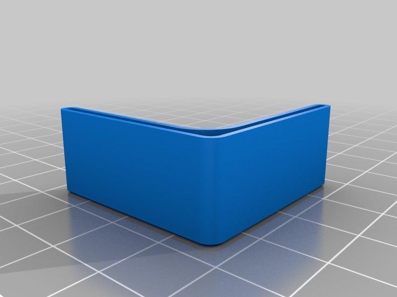 4103fe562e74fc526b9f1d30b3af5efb.png Télécharger fichier STL gratuit Capuchon de sécurité pour étagères d'angle 1,25 • Design pour imprimante 3D, ThinkSolutions