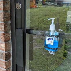 Download free STL file Minimalist Hand Sanitizer Bottle Holder • 3D printer template, ThinkSolutions