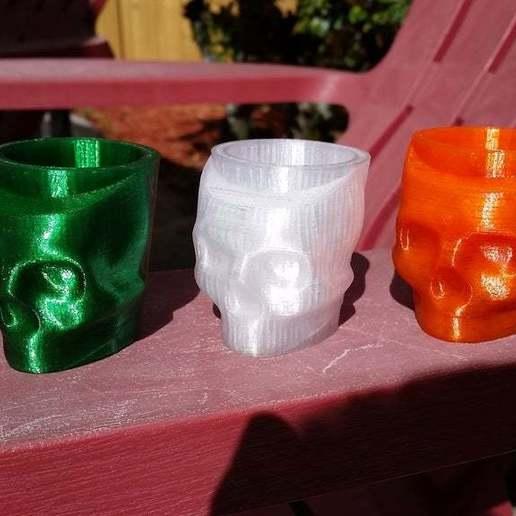 20171024_145422.jpg Download free STL file Halloween Shot Glass • 3D printer template, ThinkSolutions