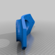 """Download free STL file Thien Separator Inlet for 55 Gallon Drum 2.5"""" PVC • 3D print object, ThinkSolutions"""