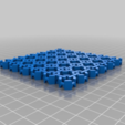 Download free STL file Placemat Chainmail Fabric • 3D printer object, ThinkSolutions
