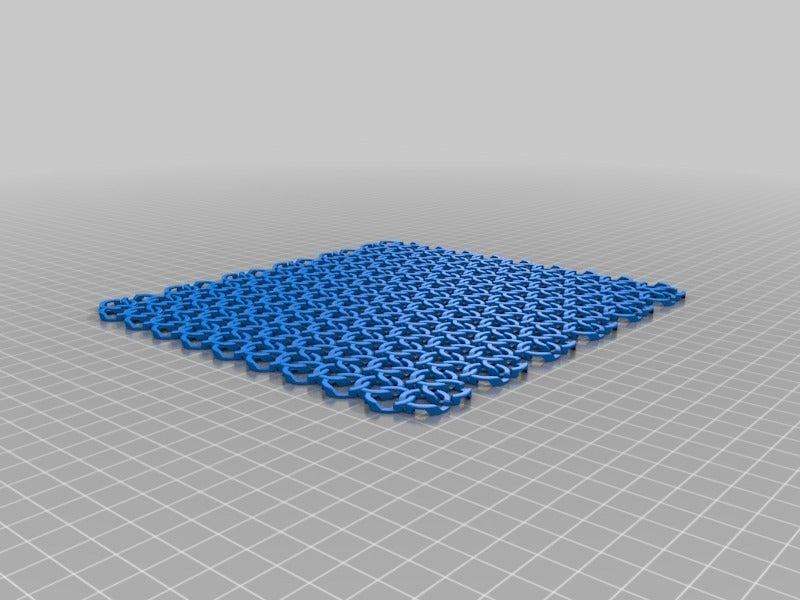 ab303ab6634586645eb32c452e8c4823.png Télécharger fichier STL gratuit Tissu en cotte de mailles de style médiéval • Plan pour imprimante 3D, ThinkSolutions