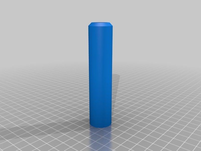 """da426ff27c5b9b0b6834ebd4987e7849.png Télécharger fichier STL gratuit Robinet 1/4""""-18NPT - Poignée à filetage • Modèle pour impression 3D, ThinkSolutions"""