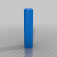 "Download free STL file 1/4""-18NPT Tap - Thread Chase Handle • Model to 3D print, ThinkSolutions"