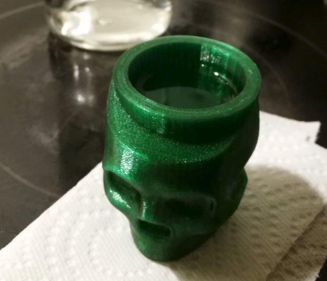 Skull_Shot_Glass.JPG Télécharger fichier STL gratuit Verre à photos d'Halloween • Objet imprimable en 3D, ThinkSolutions