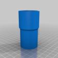 Download free STL file Ryobi Sander Vacuum Attachment • 3D printer object, ThinkSolutions
