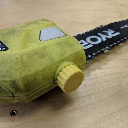 Download free STL file Ryobi Pole Saw Oil Tank Cap • 3D printing model, ThinkSolutions