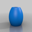 """Download free STL file Simple LED Lamp Shade with standard 1.5"""" Hole • 3D printer model, ThinkSolutions"""