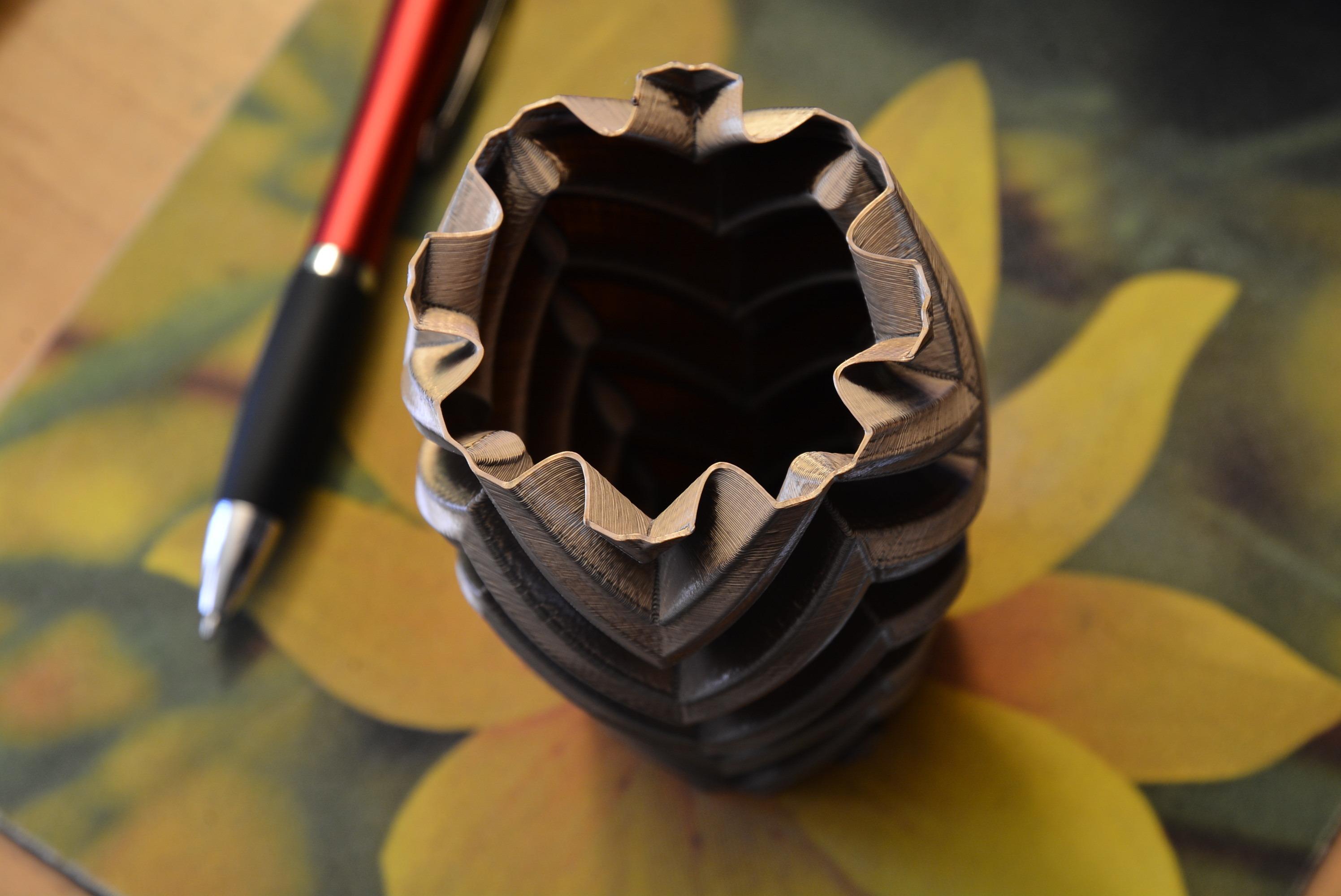 375a.JPG Download STL file Vase 375 • 3D print template, StevePrints