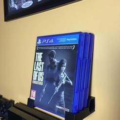 IMG_3054.JPG Download STL file Playstation / Xbox Game Stand • 3D printing template, aligonulacar