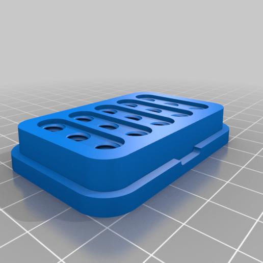 Bottom.png Download free STL file Simple Nozzle Holder • 3D print template, victor_arnaiz