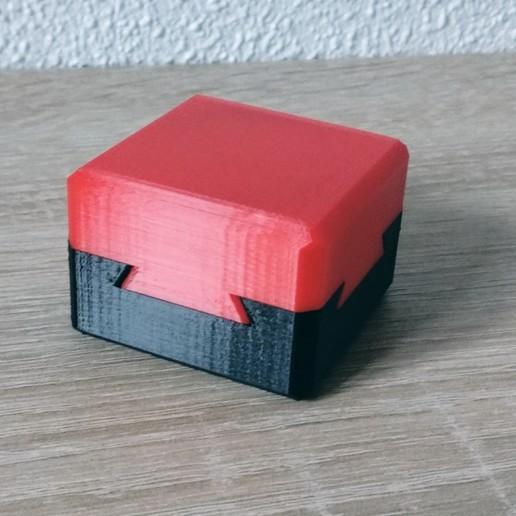 Download free 3D model Impossible dovetail box, victor_arnaiz