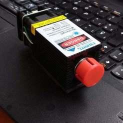 Download free 3D printing templates Laser Cover (16mm), victor_arnaiz