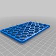 Grid.png Download free STL file Soap / Scoring Pad Holder • 3D printer design, victor_arnaiz