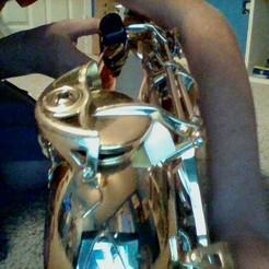 Descargar modelos 3D gratis puntales de saxofón, 3170892