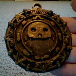 Download free 3D printer files pirates of the Caribbean Aztec gold, 3170892