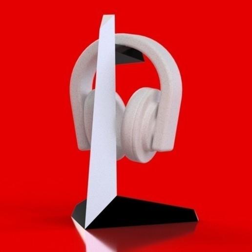 container_tanto-headphone-stand-3d-printing-75706.jpg Télécharger fichier STL gratuit Porte-casque • Plan pour imprimante 3D, marcossierra