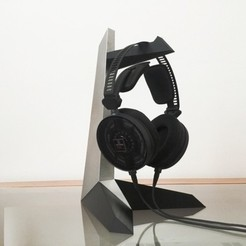 Download free 3D printing templates Headphone holder, marcossierra