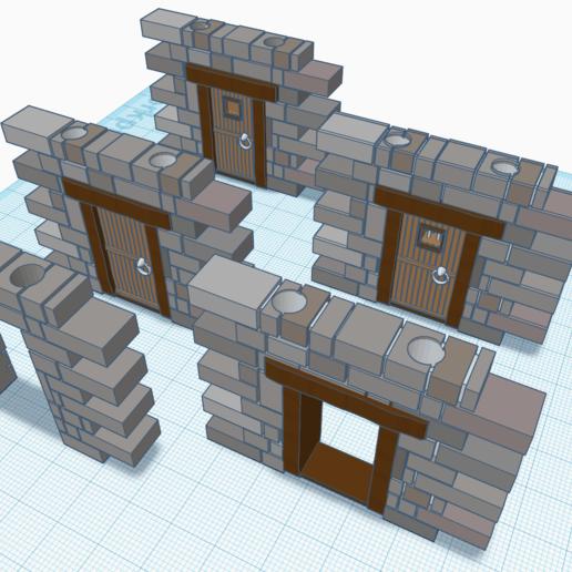 Télécharger fichier STL gratuit Offre groupée E-C Doors v1 • Modèle à imprimer en 3D, Morhec