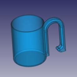 Descargar archivos 3D gratis Taza de Pitagoras, rubbomber