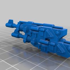 Download free 3D printer templates Twinlinked lascannons, Daealis