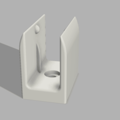 SUPPORT VOLET final v1.png Download free STL file hook/crank support roller shutter crank handle • 3D print template, Arracher