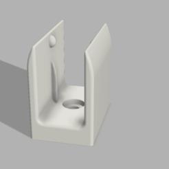 SUPPORT VOLET final v1.png Télécharger fichier STL crochet/support manivelle volet roulent • Design pour impression 3D, Arracher