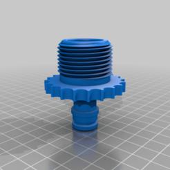 raccord_pompe4.png Télécharger fichier STL gratuit raccord 1 1/4 32 mm /raccord gardena pour pompe • Plan pour impression 3D, 3dprintercourcy