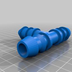 raccord_en_T_pour_tube_de_19_mm.png Télécharger fichier STL gratuit raccord en T pour tuyau de 19 mm • Modèle pour impression 3D, 3dprintercourcy