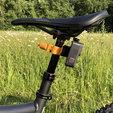 Download STL files Gopro mountain bike support - Gopro mountain bike support, DZKMilou