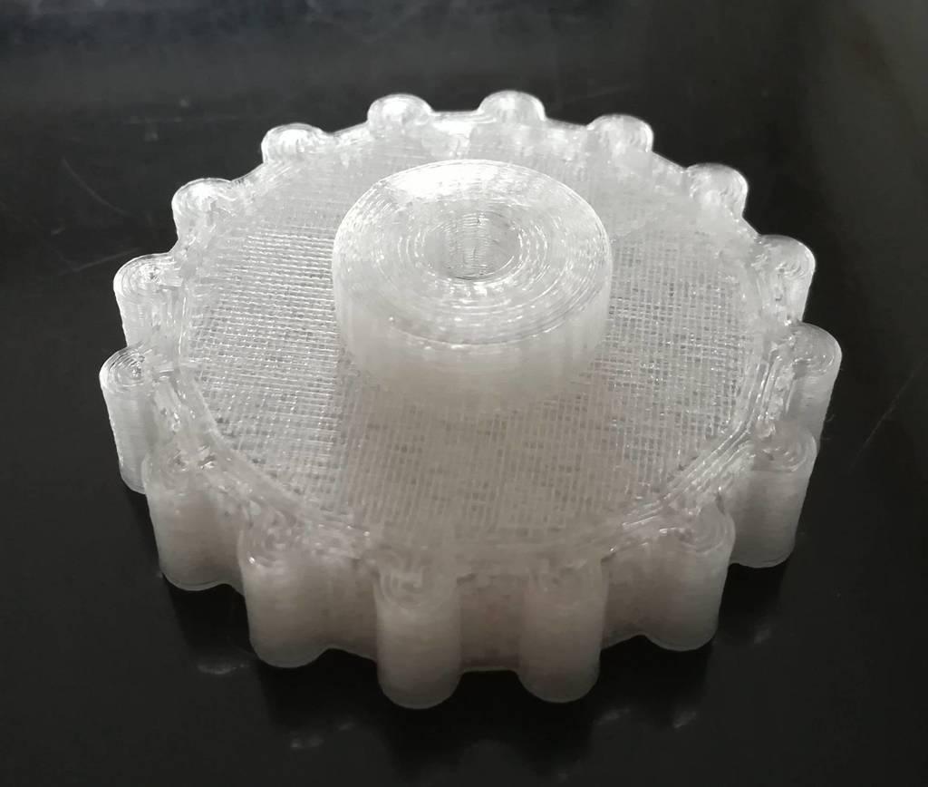 Knobs_nuts_M4_2.jpg Télécharger fichier STL gratuit Boutons avec écrou M4 pour le réglage du lit Alfawise U30 • Plan imprimable en 3D, RSergio_projects